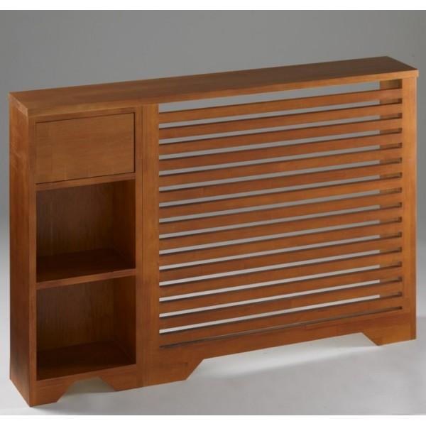 Cubreradiador cl sico con mueble auxiliar for Mueble cubreradiador