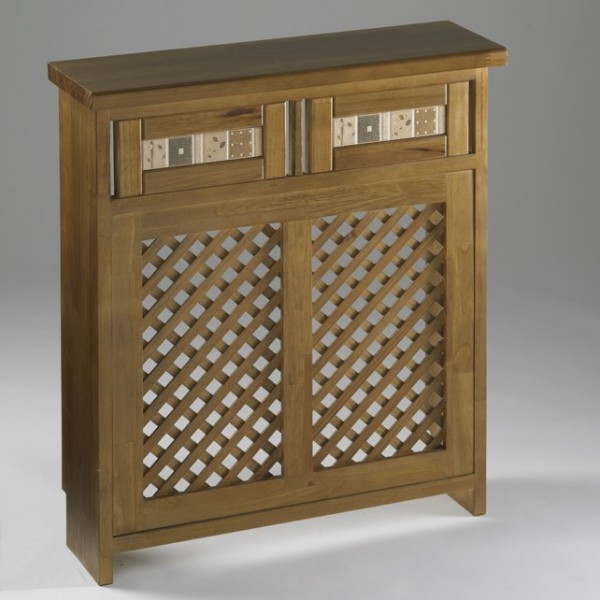 Cubreradiador cl sico de madera modelo castilla - Cubreradiadores clasicos ...