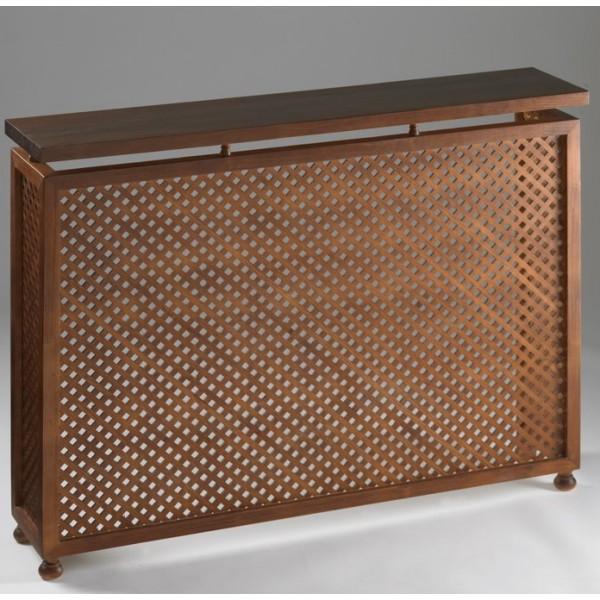 Cubreradiador cl sico madera modelo palmyra - Cubreradiadores clasicos ...
