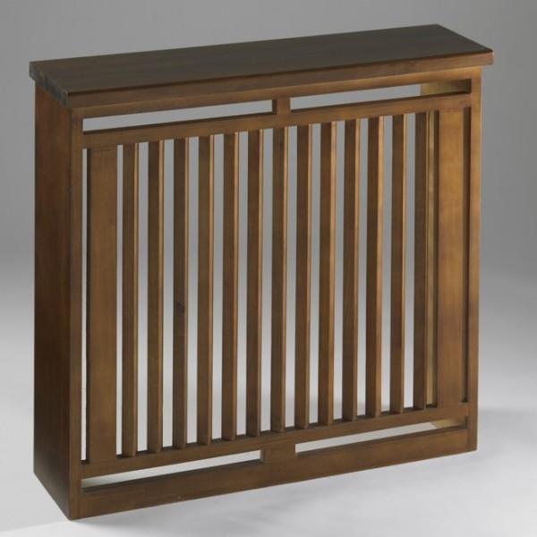Cubreradiador cl sico de madera maciza mod yuste - Cubreradiadores clasicos ...