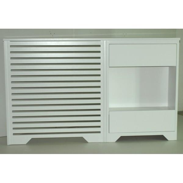 Cubreradiador cl sico con mueble auxiliar - Cubreradiadores clasicos ...