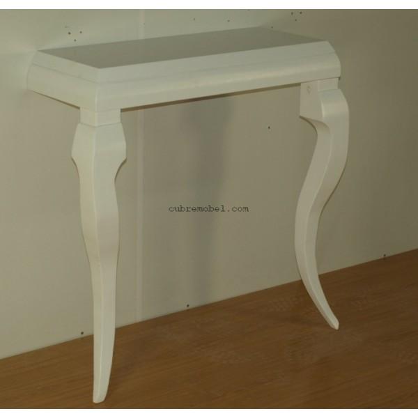 Mueble de entrada a medida con patas cabriol - Mueble a medida ...