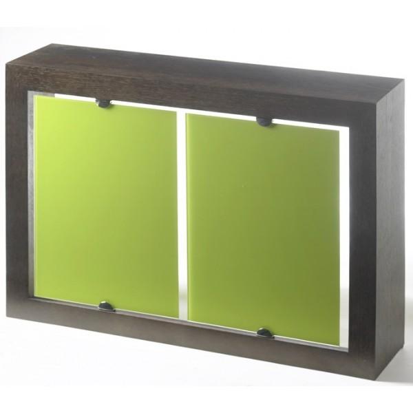 Cristal verde - Cubreradiadores de cristal ...