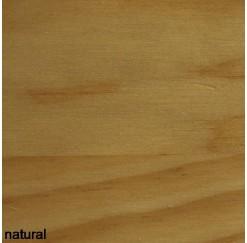 Acabado color Natural